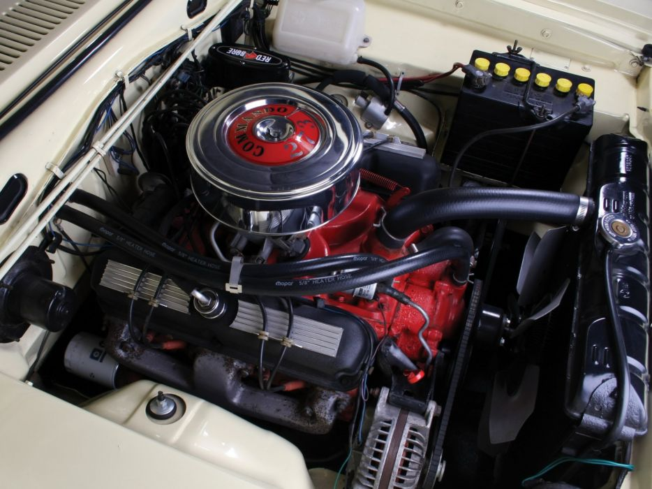 1966 Plymouth Barracuda Fastback Hardtop (BP29) muscle classic engine     g wallpaper