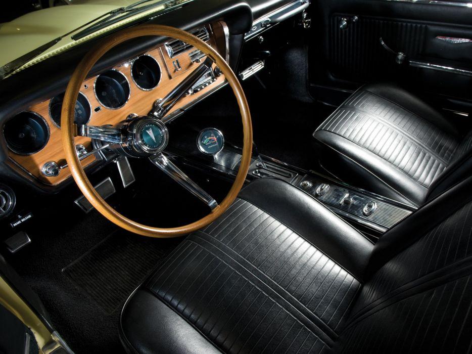 1966 Pontiac Tempest GTO Hardtop Coupe interior     f wallpaper
