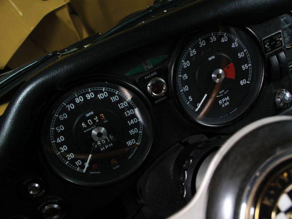 1968 Jaguar E-Type Fixed Head Coupe US-spec (Series-II) supercar classic interior    g wallpaper