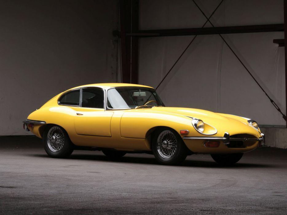 1968 Jaguar E-Type Fixed Head Coupe US-spec (Series-II) supercar classic     g wallpaper