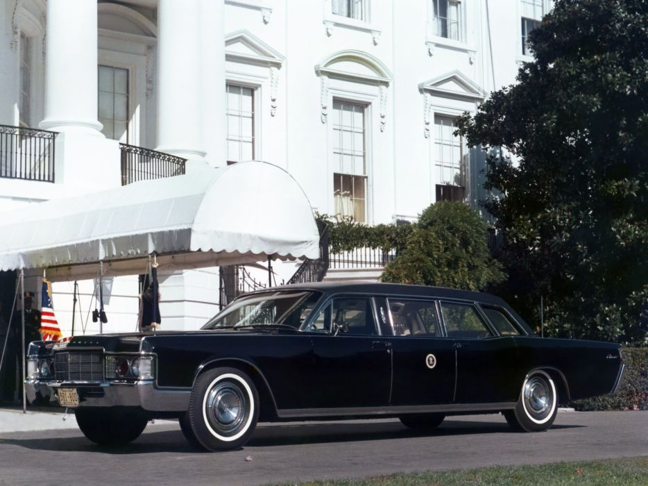 1969 Lincoln Continental Presidential Limousine luxury armored classic     f wallpaper