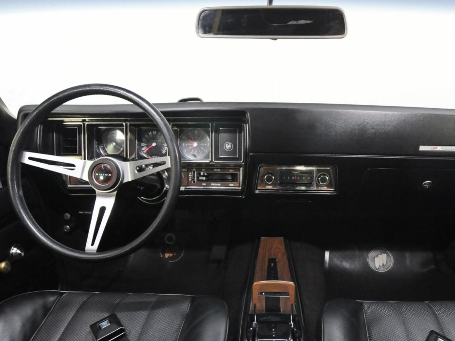 1970 Buick GSX (44637) muscle classic interior     gg wallpaper