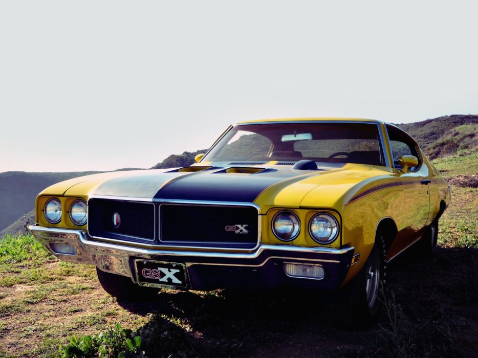 1970 Buick GSX (44637) muscle classic  t wallpaper