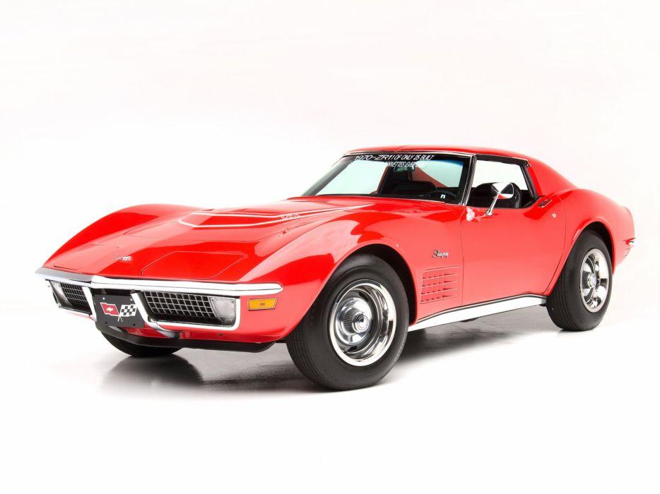 1970 Chevrolet Corvette Stingray ZR-1 (C-3) supercar muscle classic     g wallpaper