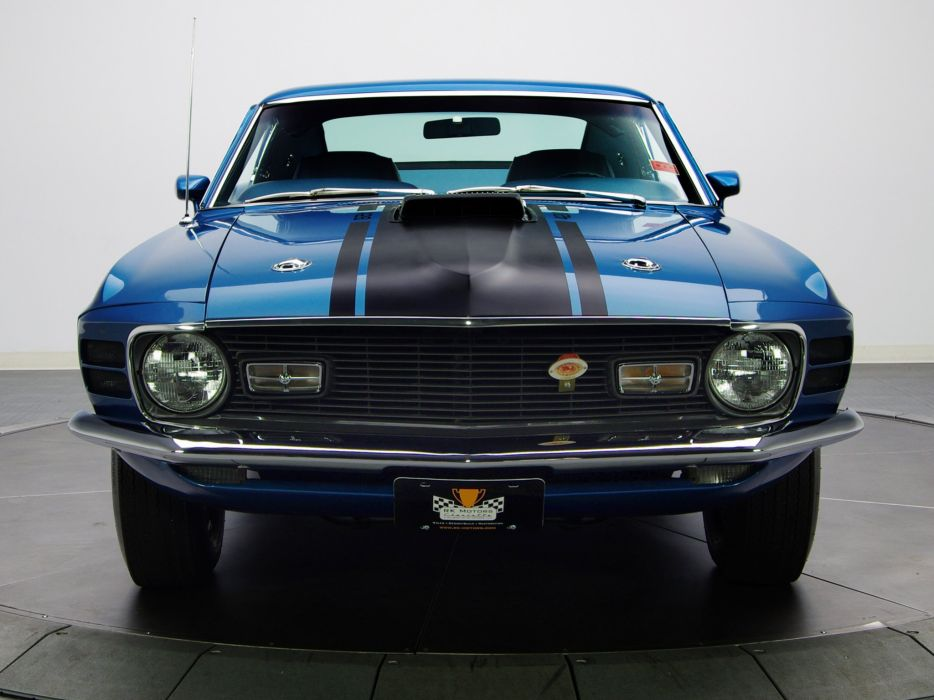 1970 Ford Mustang Mach-1 428 Super Cobra Jet muscle classic   g wallpaper