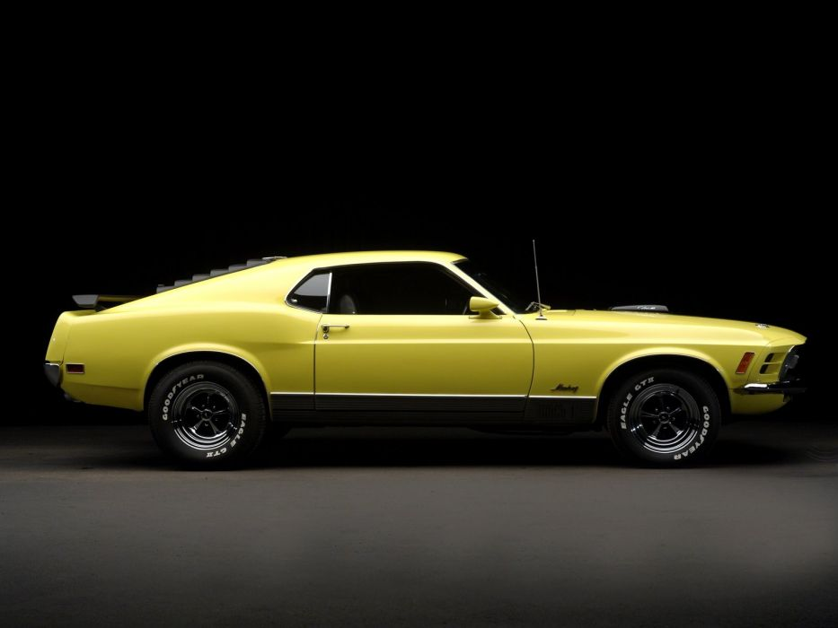 1970 Ford Mustang Mach-1 428 Super Cobra Jet muscle classic  f wallpaper