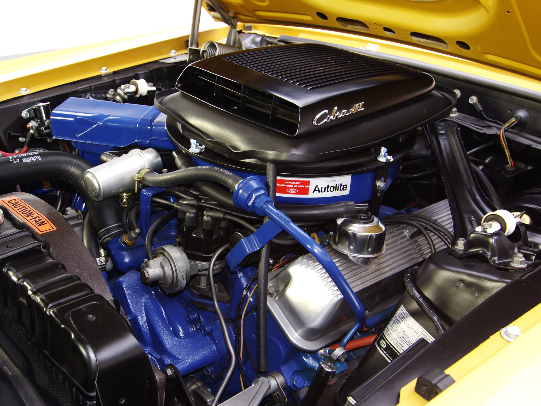 1970 Ford Mustang Mach1 428 Super Cobra Jet muscle classic engine