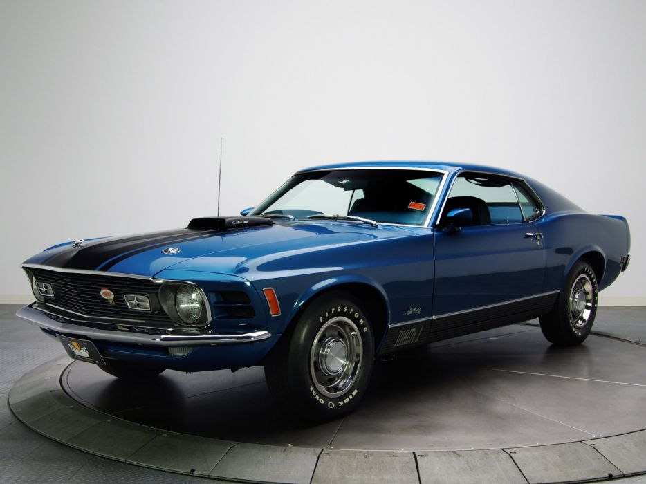 1970 Ford Mustang Mach-1 428 Super Cobra Jet muscle classic c wallpaper