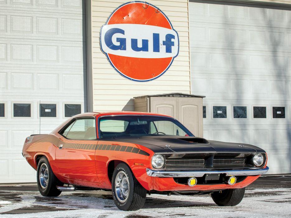 1970 Plymouth AAR 'Cuda (BS23) muscle classic barracuda  g wallpaper
