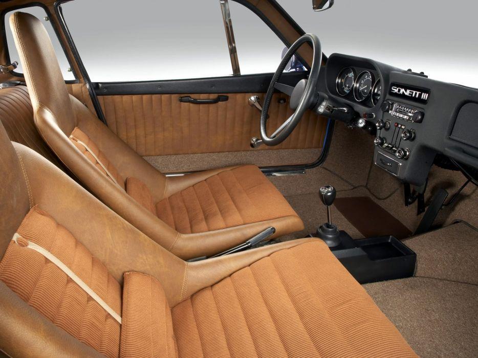 1970 Saab Sonett III (9-7) interior       h wallpaper