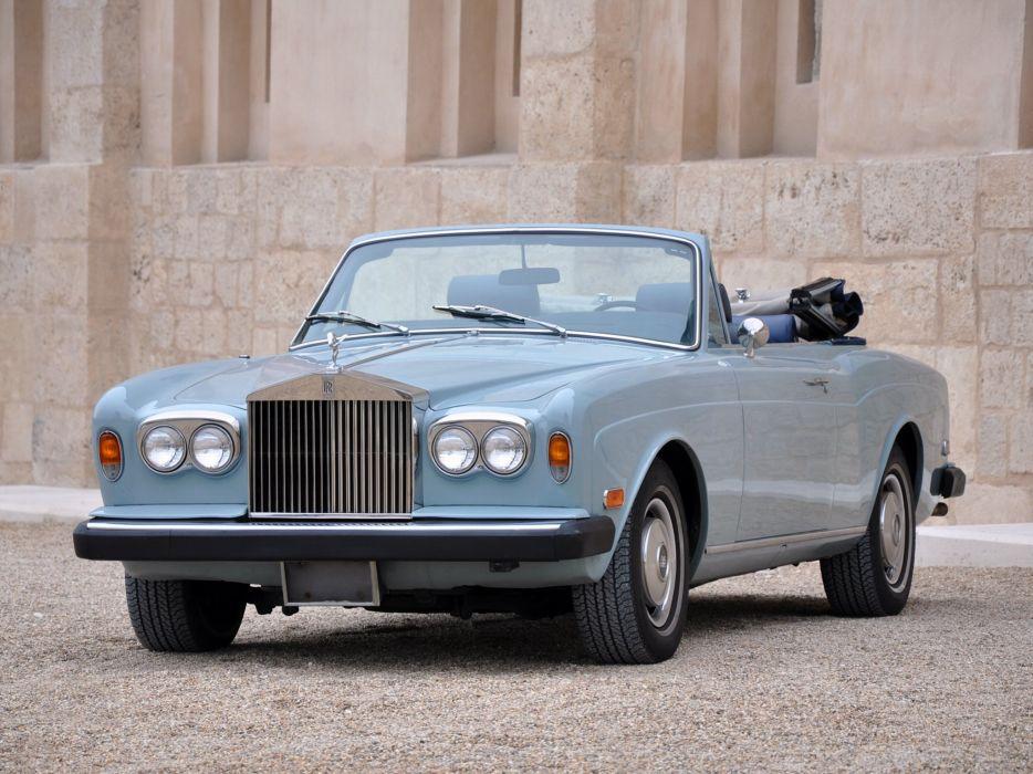 1977-87 Rolls Royce Corniche Convertible luxury   j wallpaper