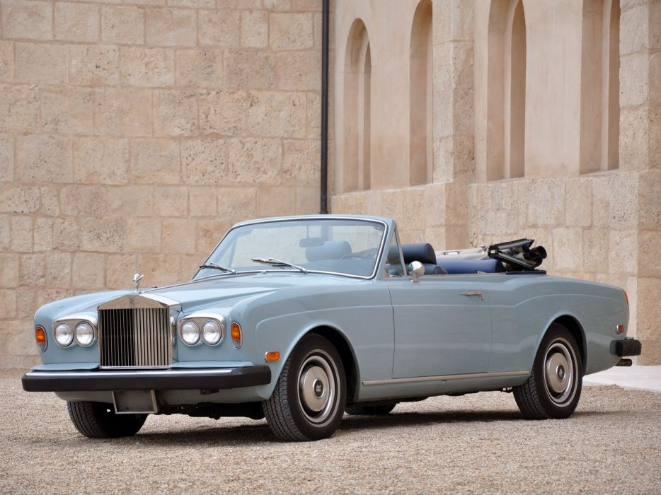 1977-87 Rolls Royce Corniche Convertible luxury  hy wallpaper