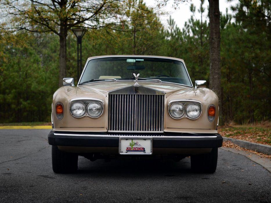 1977-87 Rolls Royce Corniche Convertible luxury  f wallpaper