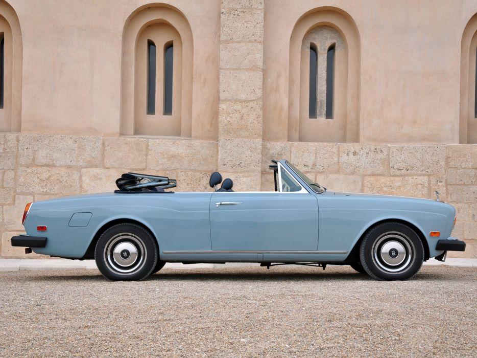 1977-87 Rolls Royce Corniche Convertible luxury k wallpaper