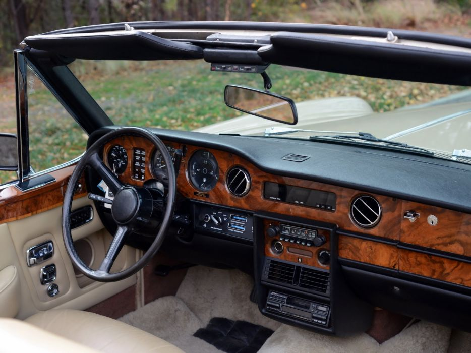 1977-87 Rolls Royce Corniche Convertible luxury interior  g wallpaper