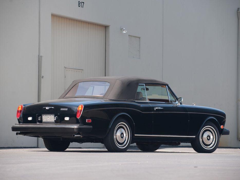 1977-87 Rolls Royce Corniche Convertible luxury  gd wallpaper