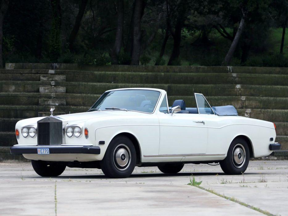1977-87 Rolls Royce Corniche Convertible luxury  nd wallpaper