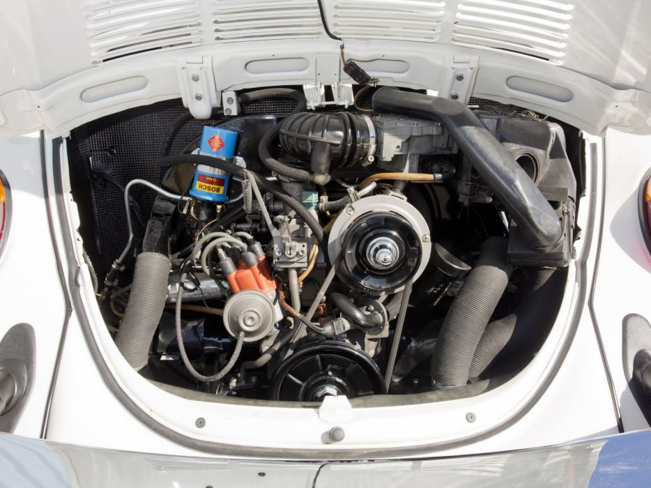 1979 Volkswagen Super Beetle Convertible (Type-1) bug engine     g wallpaper