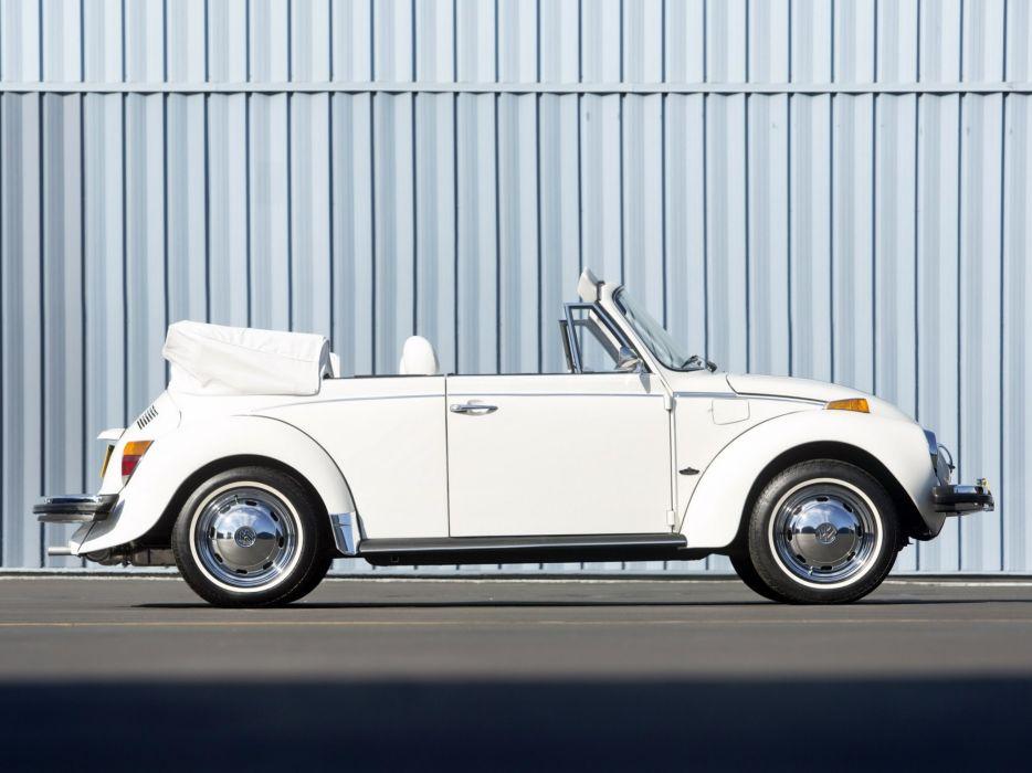 1979 Volkswagen Super Beetle Convertible (Type-1) bug   g wallpaper