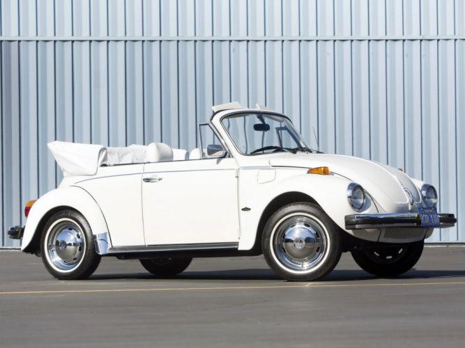 1979 Volkswagen Super Beetle Convertible (Type-1) bug f wallpaper
