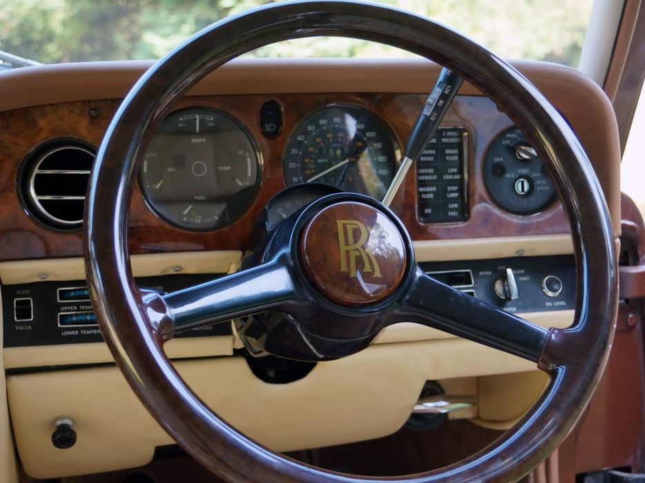 1980 Rolls Royce Silver Shadow I-I Shooting Break stationwagon luxury interior     g wallpaper