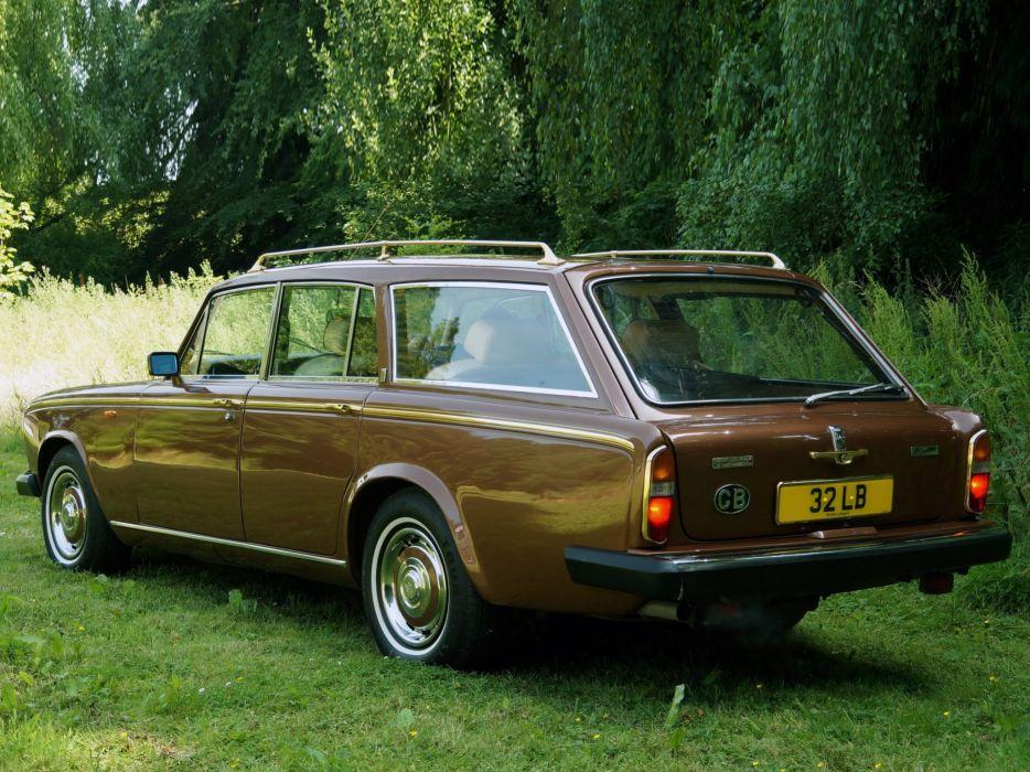 1980 Rolls Royce Silver Shadow I-I Shooting Break stationwagon luxury     h wallpaper
