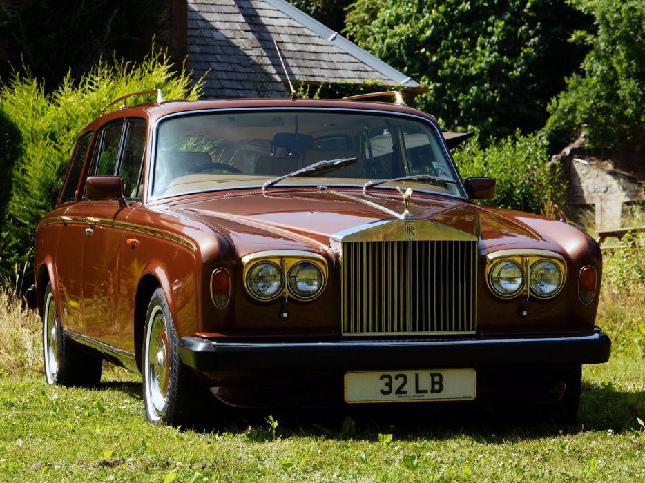 1980 Rolls Royce Silver Shadow I-I Shooting Break stationwagon luxury  g wallpaper