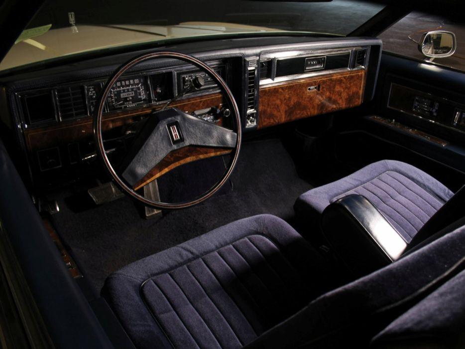 1981 Oldsmobile Toronado Brougham luxury interior    f wallpaper