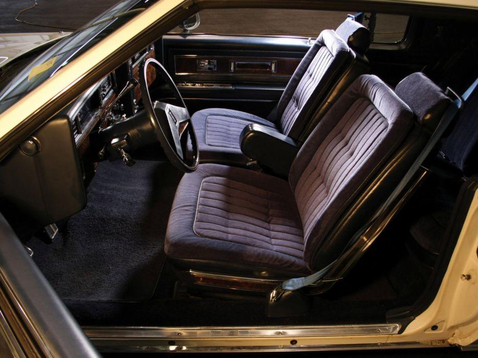 1981 Oldsmobile Toronado Brougham luxury interior  d wallpaper