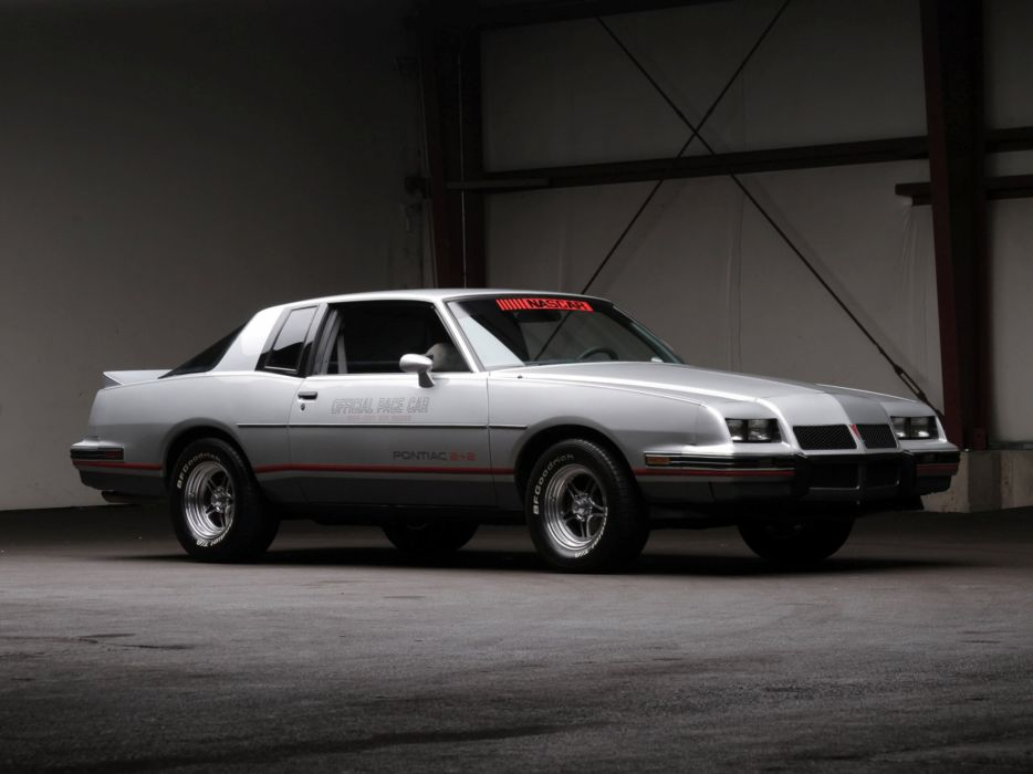 1986 Pontiac Grand Prix 2-2 Pace indy 500 race racing muscle   f wallpaper