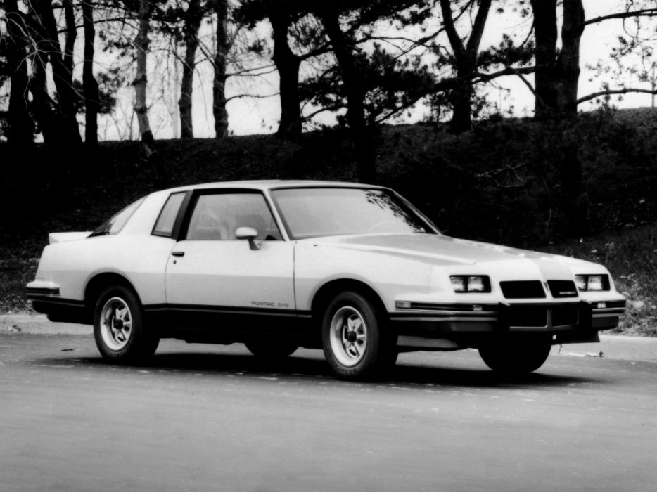 1986 Pontiac Grand Prix 2-2 muscle   f wallpaper