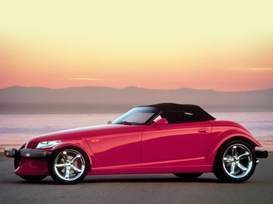 1997-02 Plymouth Prowler supercar  e wallpaper