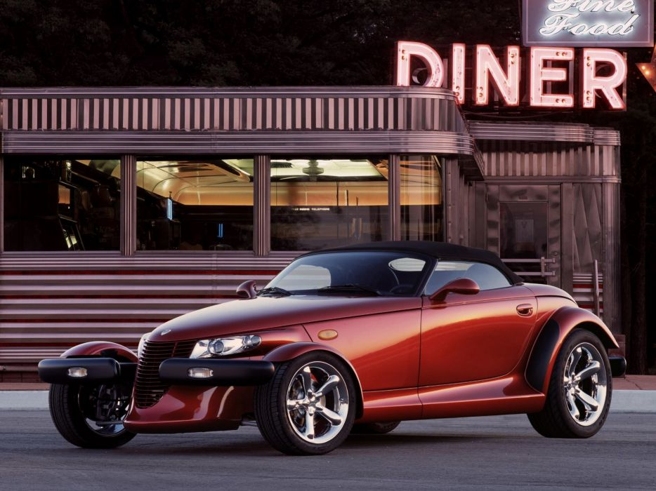 1997-02 Plymouth Prowler supercar        g wallpaper