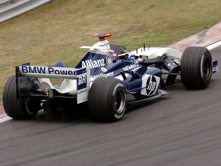 2004 BMW Williams F-1 FW26 formula race racing   r wallpaper