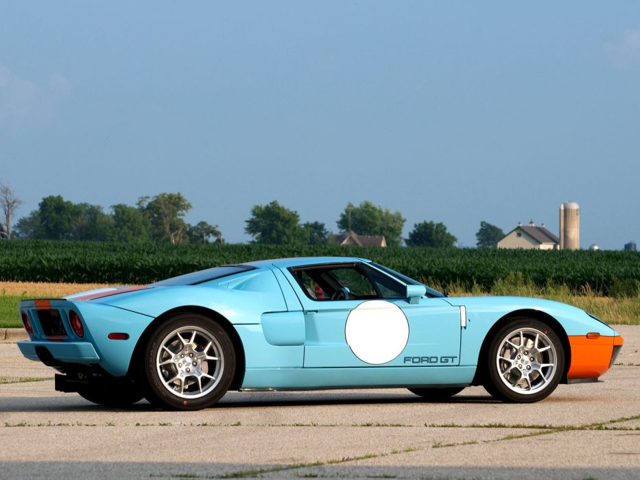 2006 Ford G-T Heritage supercar race racing  g wallpaper
