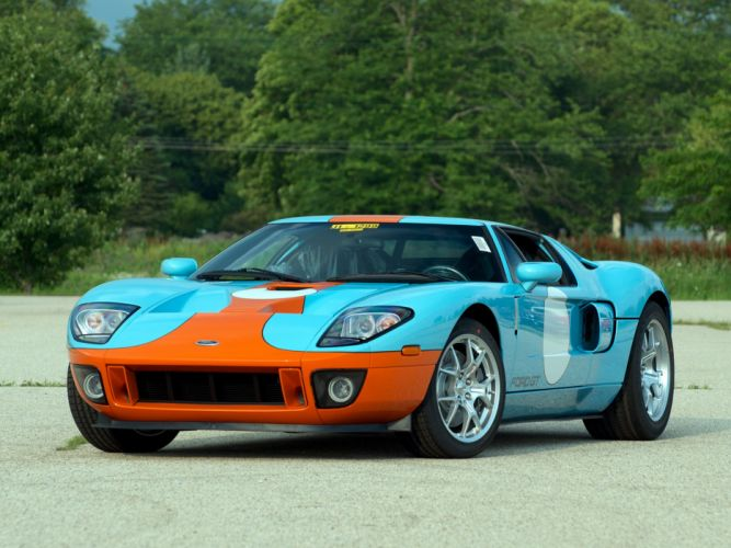 2006 Ford G-T Heritage supercar race racing f wallpaper