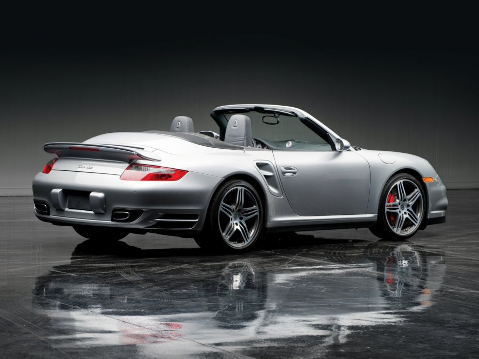 2007 Porsche 911 Turbo Cabriolet US-spec (997) supercar   g wallpaper