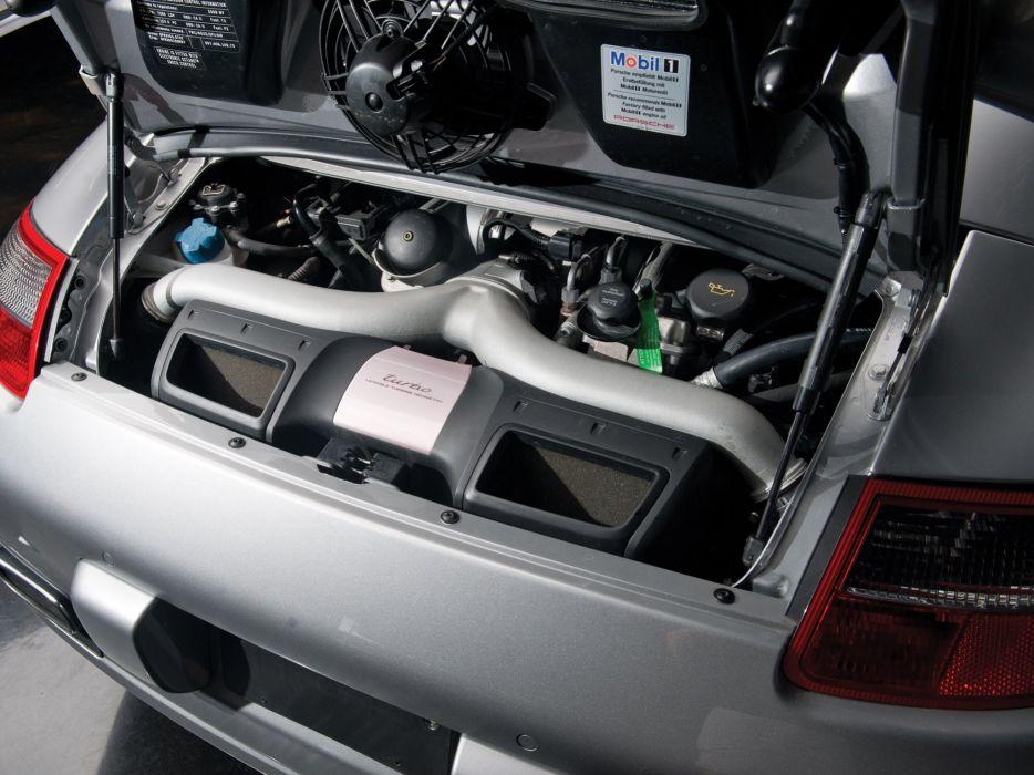 2007 Porsche 911 Turbo Cabriolet Us Spec 997 Supercar Engine F