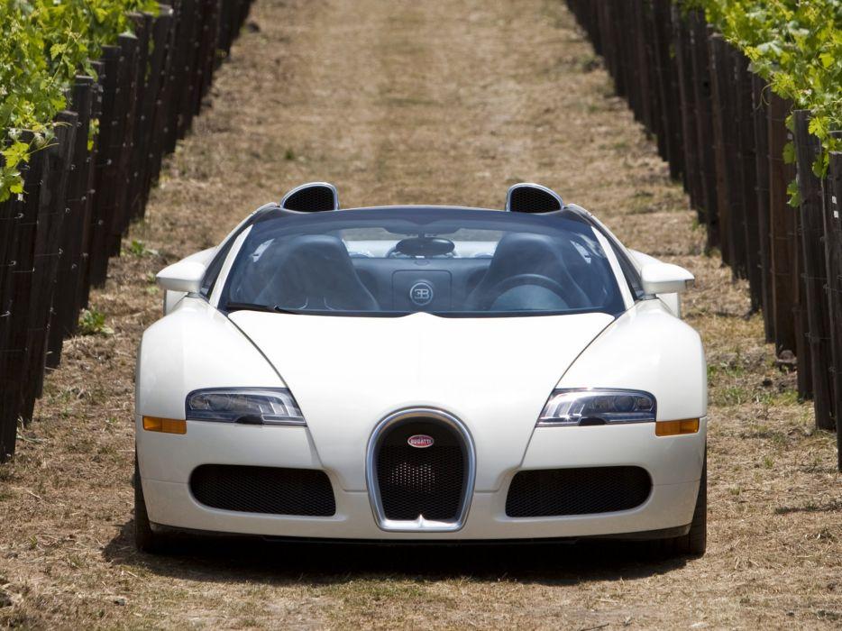 2008 Bugatti Veyron Grand Sport Roadster US-spec supercar  gg wallpaper
