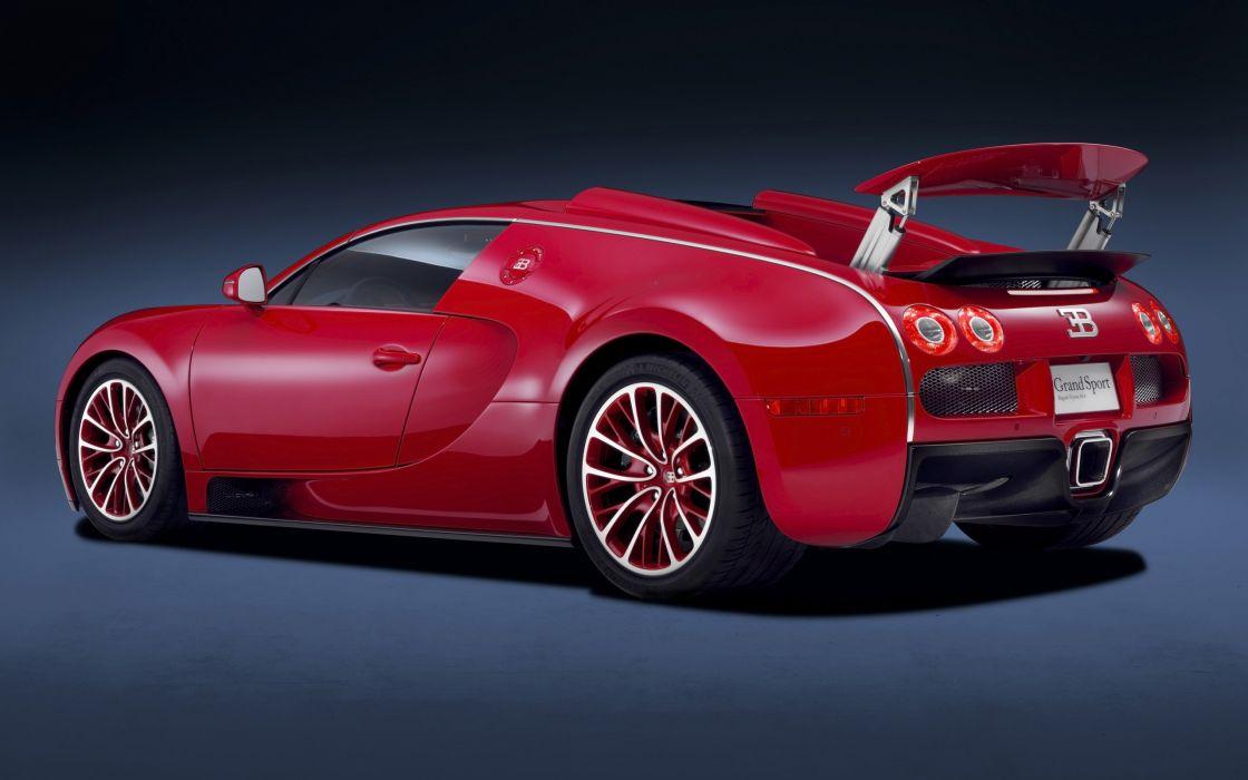 2011 Bugatti Veyron Grand Sport Roadster US-spec supercar  e wallpaper