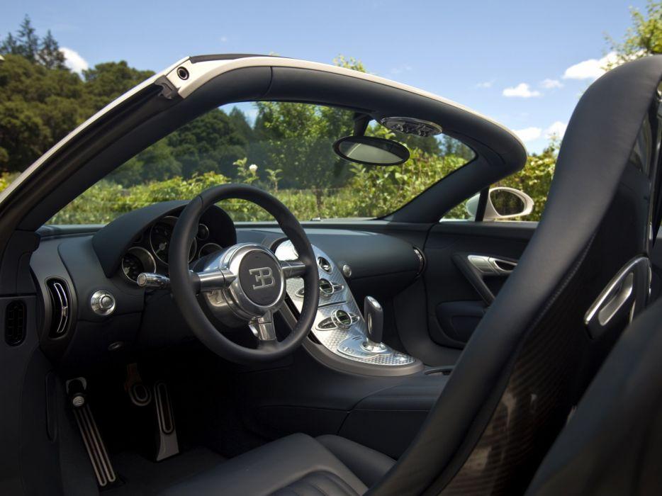 2011 Bugatti Veyron Grand Sport Roadster US-spec supercar   g wallpaper