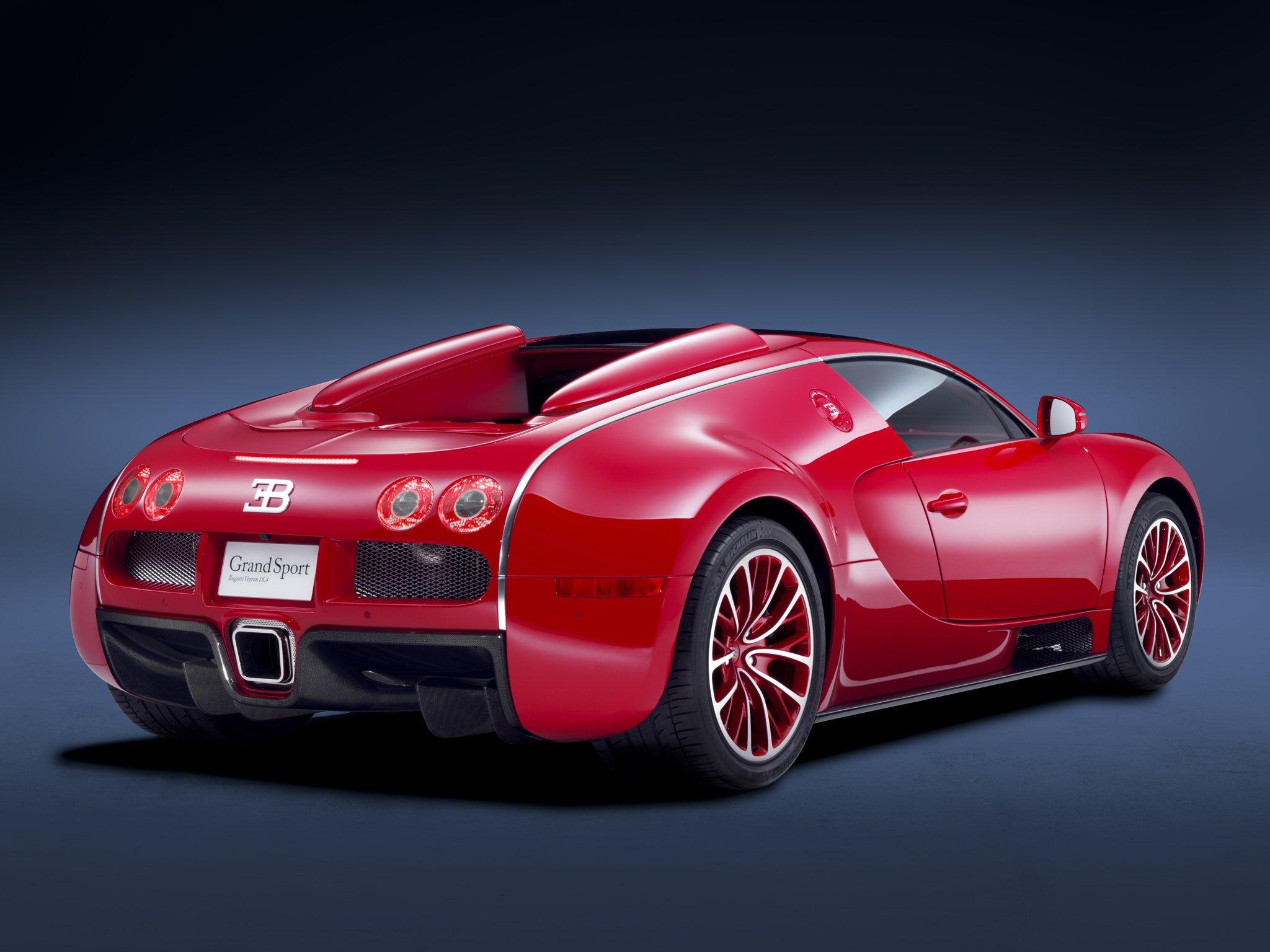 2011 Bugatti Veyron Grand Sport Roadster US-spec Supercar
