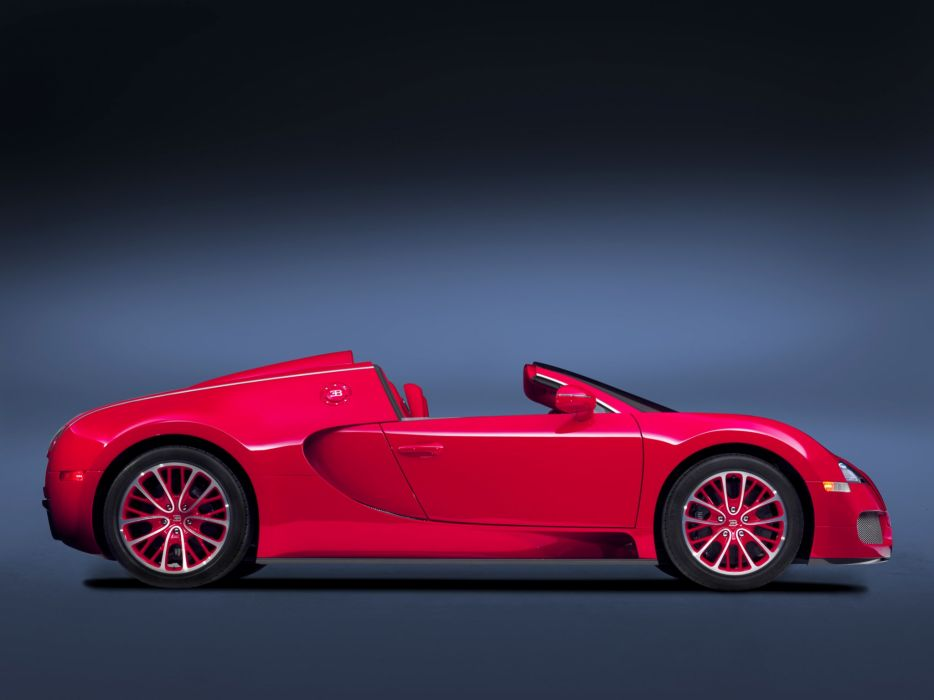 2011 Bugatti Veyron Grand Sport Roadster US-spec supercar  xz wallpaper