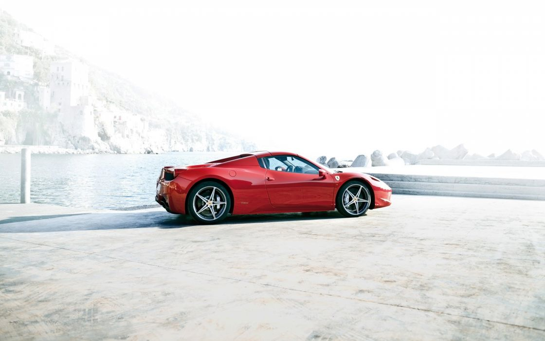 2012 Ferrari 458 Spider supercar g wallpaper