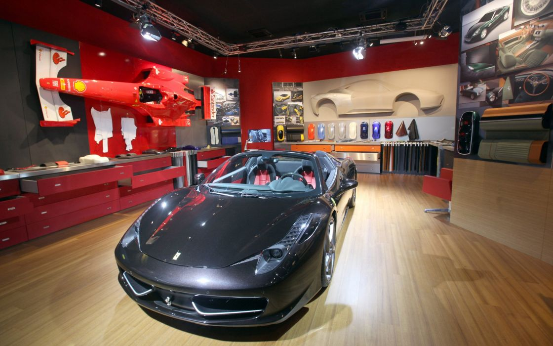 2012 Ferrari 458 Spider supercar  gn wallpaper