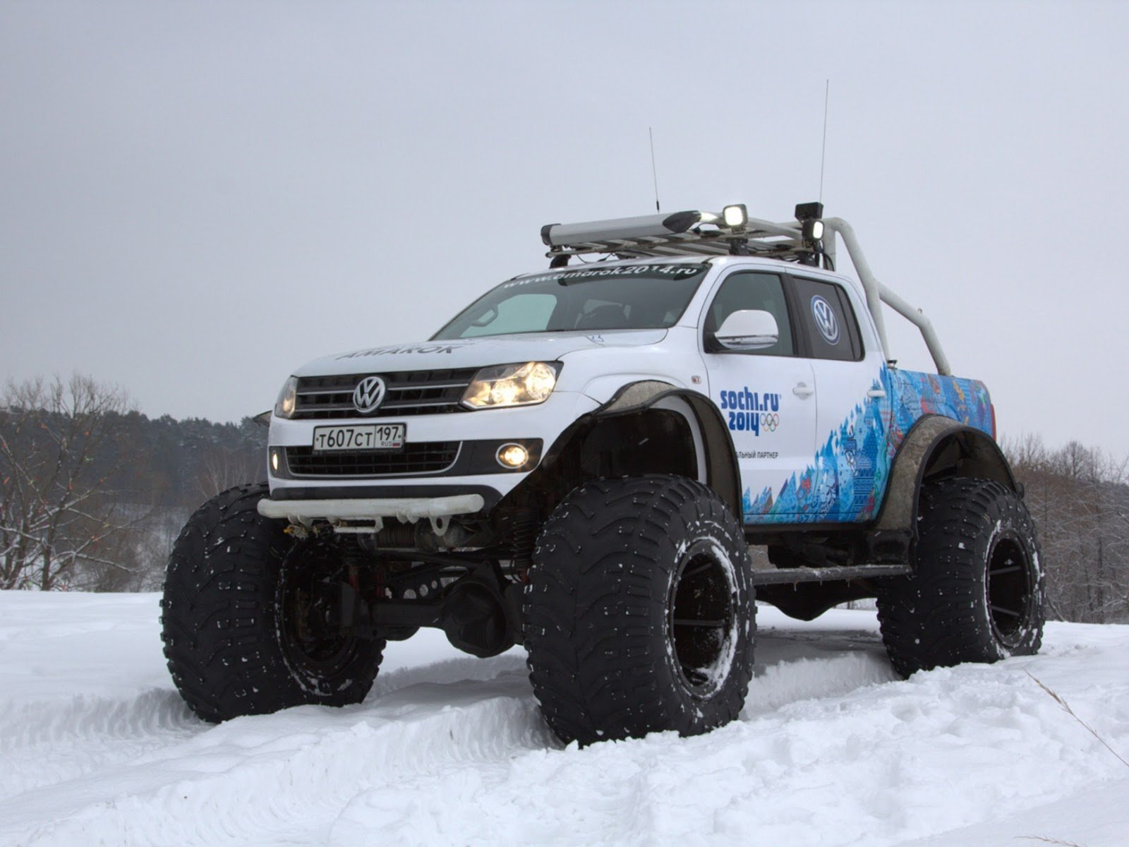 2013 volkswagen amarok northern wolf offroad 4x4 snow. Black Bedroom Furniture Sets. Home Design Ideas