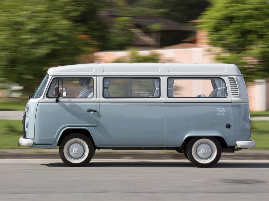 2013 Volkswagen Kombi Last Edition bus van  d wallpaper