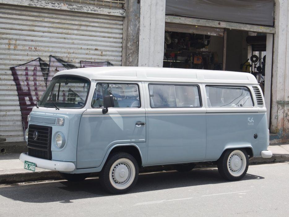 2013 Volkswagen Kombi Last Edition bus van  eq wallpaper