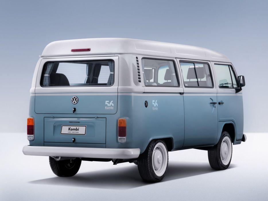 2013 Volkswagen Kombi Last Edition bus van  rt wallpaper
