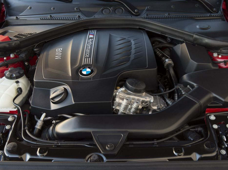 2014 BMW M235i Coupe US-spec (F22) engine       g wallpaper